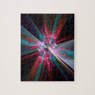 Prisma del electrón, fractal hermoso puzzle