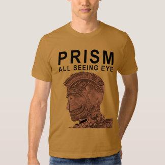 PRISMA - todo el ojo que ve - albaricoque Camisas