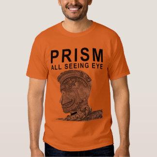 PRISMA - todo el ojo que ve - albaricoque Playera