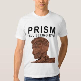 PRISMA - todo el ojo que ve - albaricoque Poleras