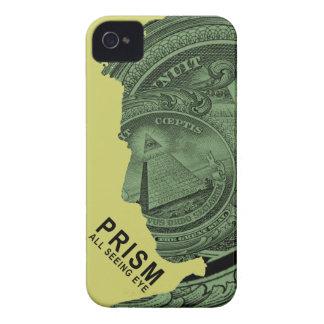 PRISMA - todo el ojo que ve - cal iPhone 4 Case-Mate Coberturas