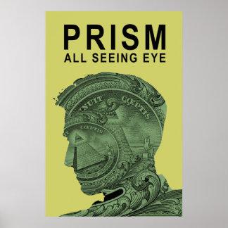 PRISMA - todo el ojo que ve - cal Posters
