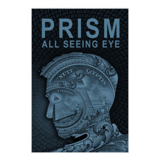 PRISMA - todo el ojo que ve - pizarra Posters