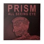 PRISMA - todo el ojo que ve - rojo Azulejos