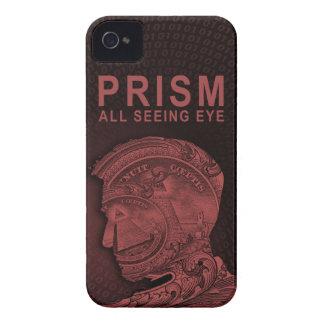 PRISMA - todo el ojo que ve - rojo iPhone 4 Case-Mate Carcasas