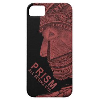 PRISMA - todo el ojo que ve - rojo iPhone 5 Case-Mate Fundas