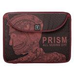 PRISMA - todo el ojo que ve - rojo Funda Macbook Pro