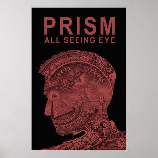 PRISMA - todo el ojo que ve - rojo Impresiones