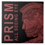 PRISMA - todo el ojo que ve - rojo Tejas