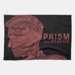 PRISMA - todo el ojo que ve - rojo Toalla