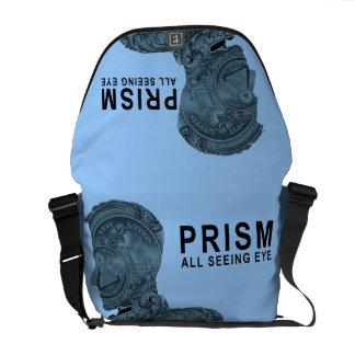 PRISMA - todo el ojo que ve - SkyBlue Bolsas De Mensajería