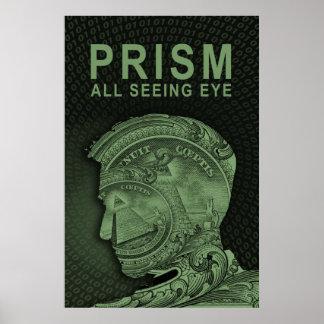 PRISMA - todo el ojo que ve - verde Posters