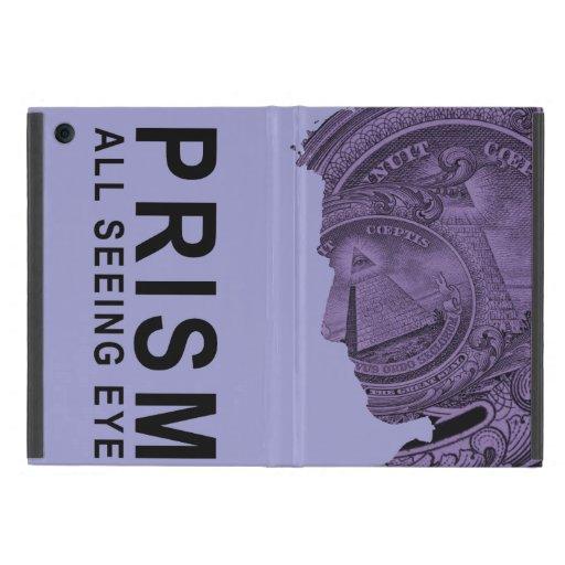 PRISMA - todo el ojo que ve - violeta iPad Mini Protectores