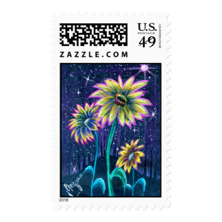 Prismaflower-1 Postage stamp