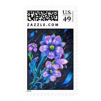Prismaflower-3 Postage stamps