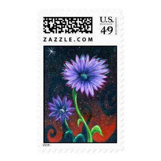 Prismaflower-4 Postage stamps