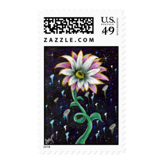 Prismaflower-6 postage stamp
