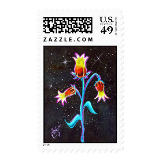 Prismaflower-8 Postage Stamp