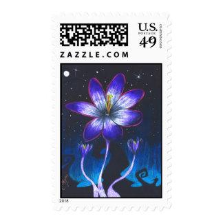 Prismaflower Crocus-1 Postage Stamp