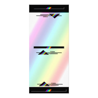 Prismatic Accent Collection Rack Card