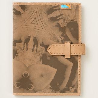 Prismatic Berkshire Leather Journal