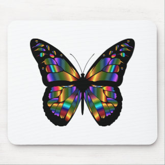 Prismatic Butterfly Custom Computer Mousepad