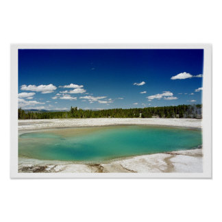 Prismatic Hot Spring at Yellowstone Poster