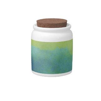 Prismatic Paper 8A Decorative Ceramic Jar With Lid Candy Jars