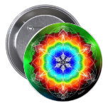 Prismatic Pool of Soul Pinback Buttons