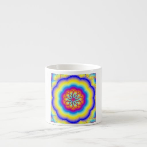 Prismatic Rainbow Espresso Mug