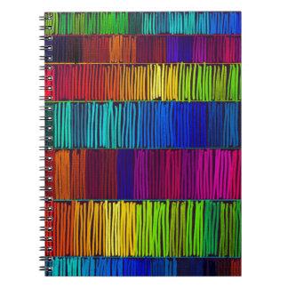 Prismatic Rainbow Reverse Notebook