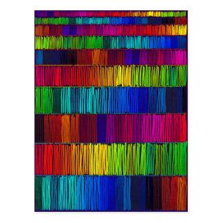 Prismatic Rainbow Reverse Postcard