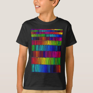 Prismatic Rainbow Reverse T-Shirt