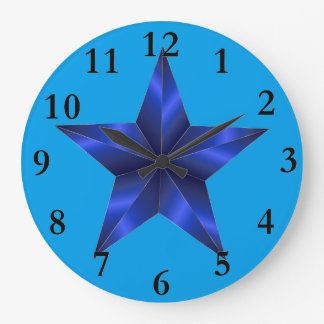 Prismatic Star 18 Large Clock