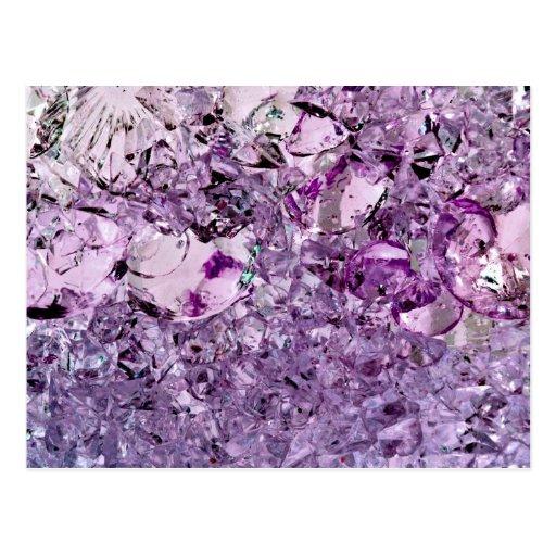 Prismático púrpura postales