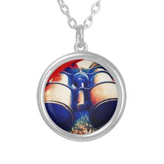Prismáticos rojos y azules joyerias personalizadas