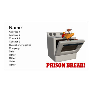 Prison Break Double-Sided Standard Business Cards (Pack Of 100)