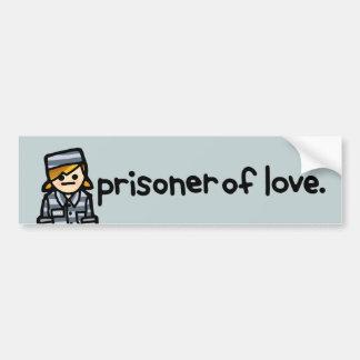 prison bus bumpersticker. bumper sticker