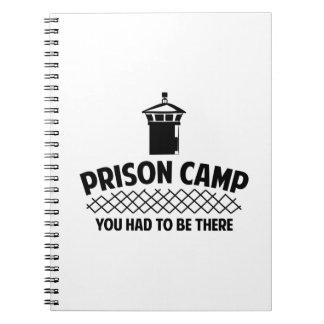 Prison Camp Spiral Notebook