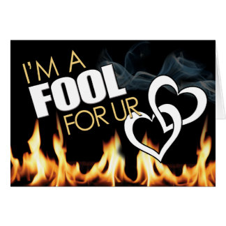 Prison Cards - Fool 4 Love