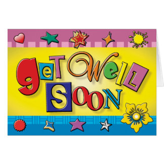 Prison Cards - Get Well Soon