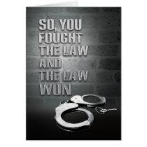 Prison Cards - Law Won