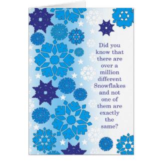 Prison Cards - Snowflakes