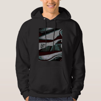 Prison Cell Wall Screen Print Hoodie