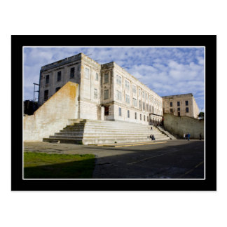 Prison Courtyard on Alcatraz Post Card