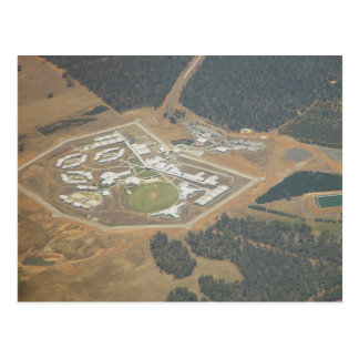 Prison Facility East Of Perth In Western Australia Postcard