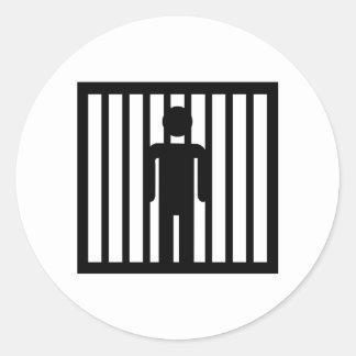Prison jail arrest sticker