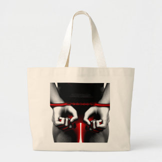Prison Jail Correctional Facility as a Management Large Tote Bag