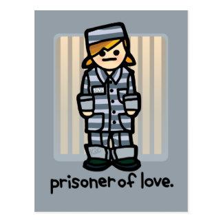 prison kite. postcard