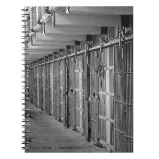 Prison Lockdown Spiral Notebook